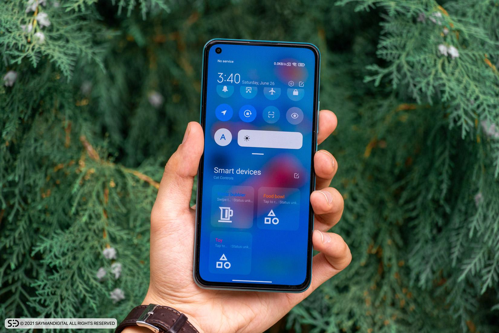 رابط کاربری Miui 12 - mi 11 lite 5G