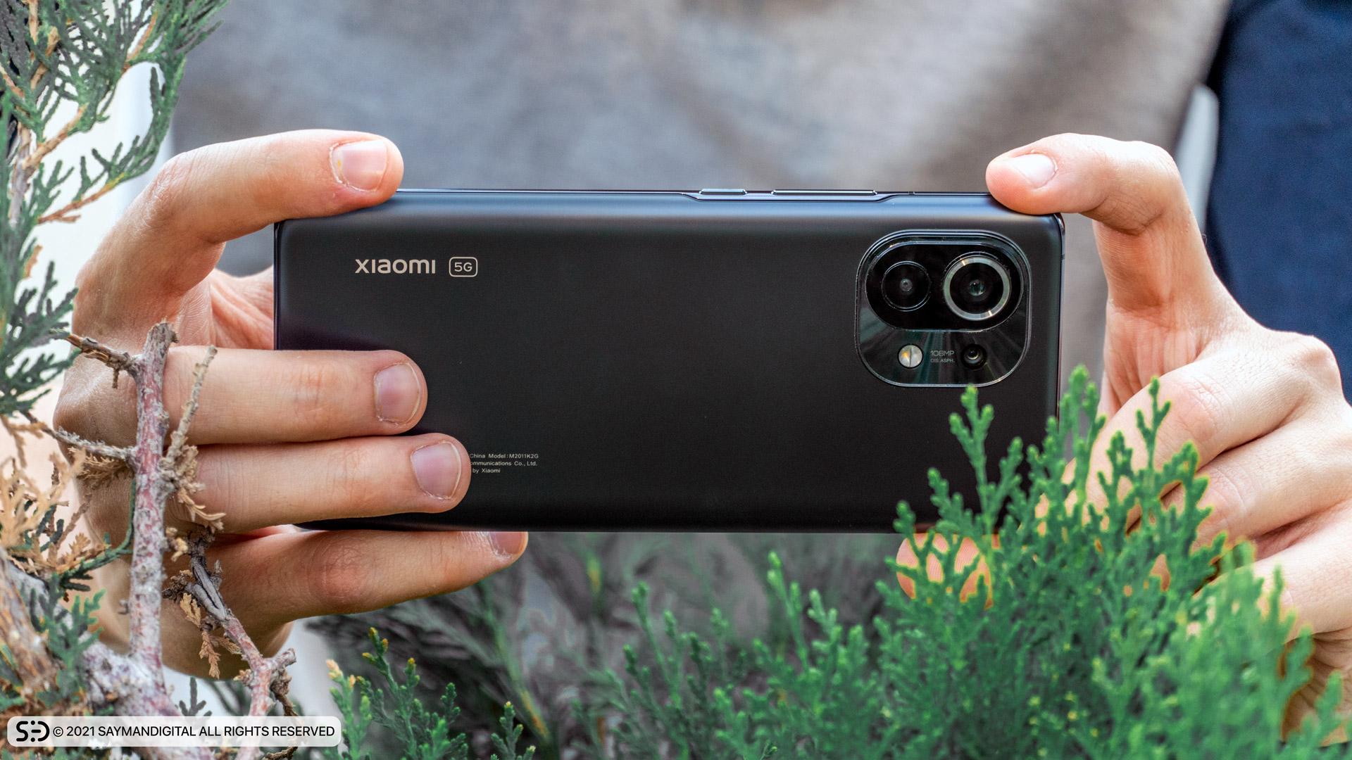 چیدمان لنز دوربینهای Mi 11 شیائومی