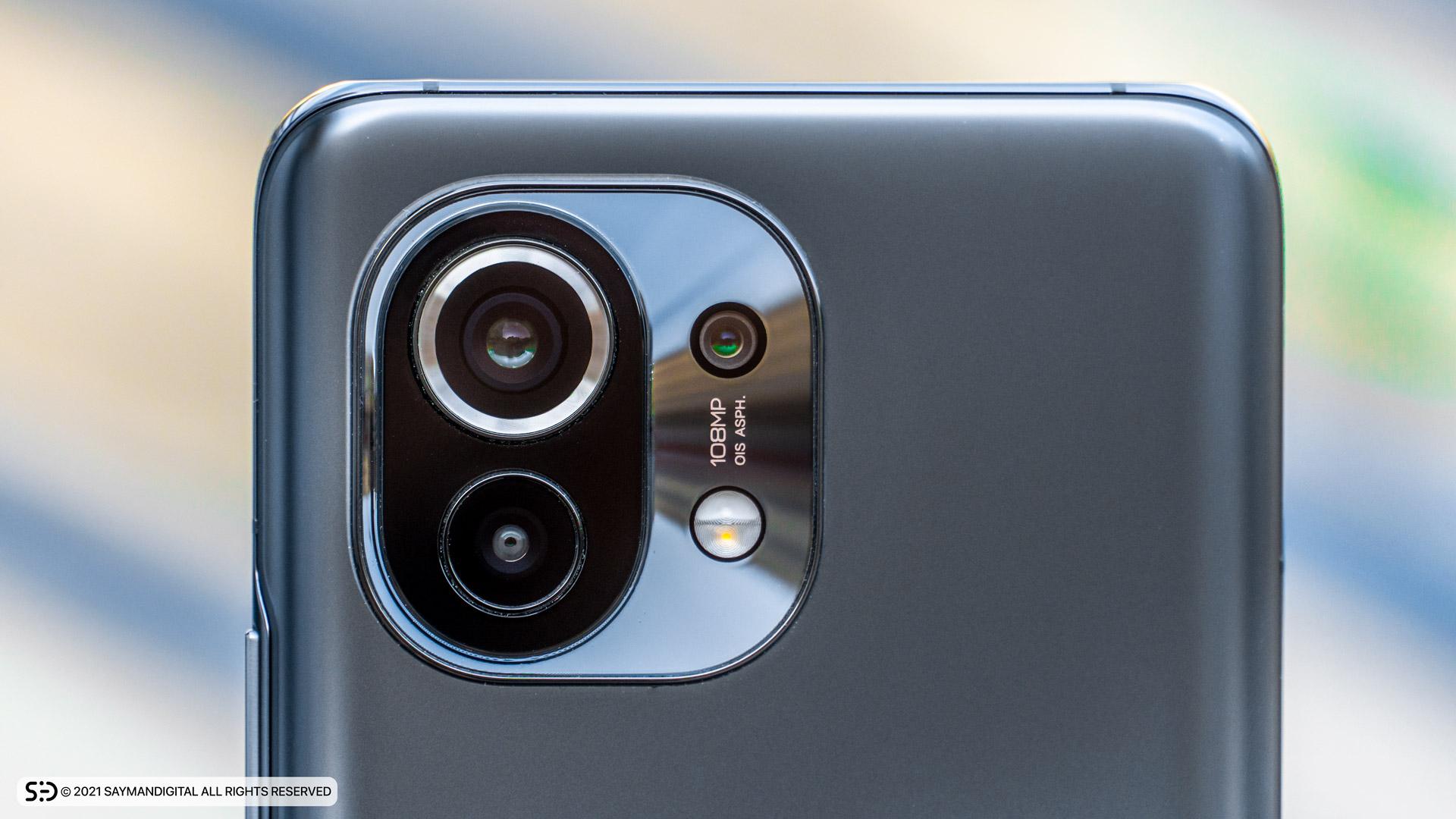 طراحی فریم دوربینهای Mi 11