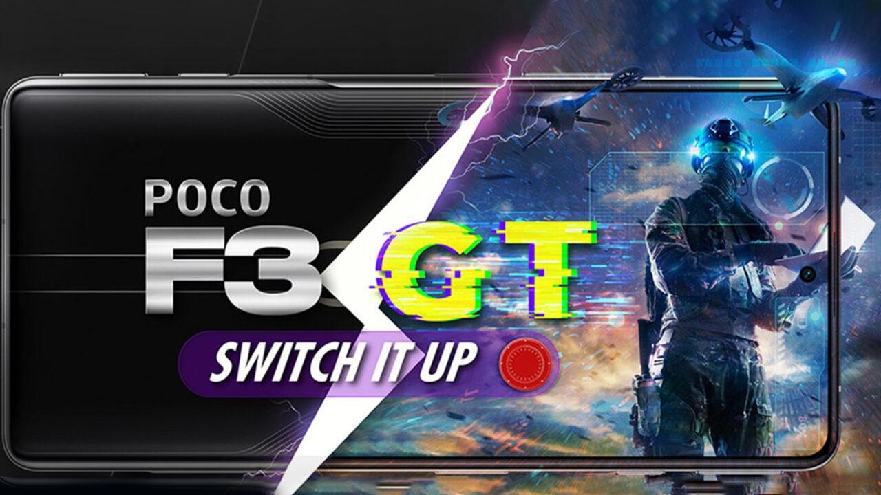 مشخصات POCO F3 GT
