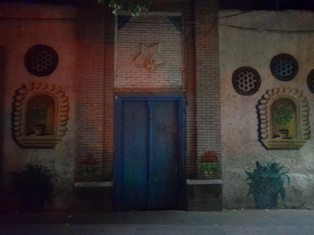 نمونه عکس دوربین اصلی گلکسی M12 در شب